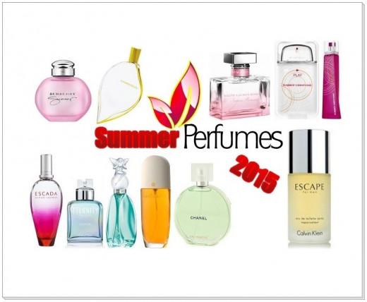 Summer Perfumes 2015