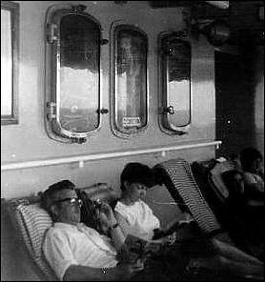 On Board Ship 1969