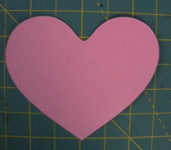 Large Heart cut