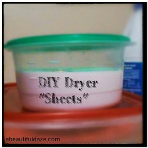 DIY Dryer Sheets