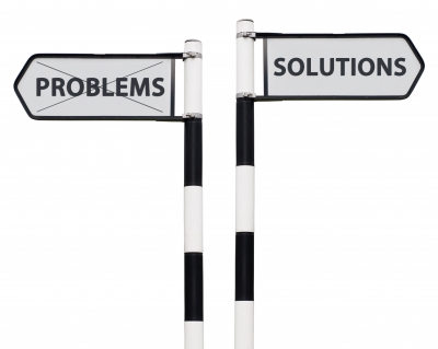 Wherever there is a problem there is always a solution, you just have to think about it