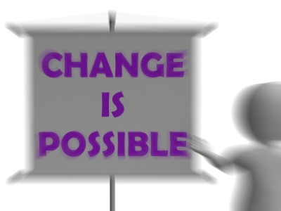 Change is possible if you can face your fears