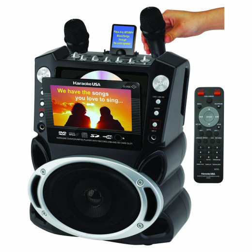 Karaoke USA Karaoke System (GF829)