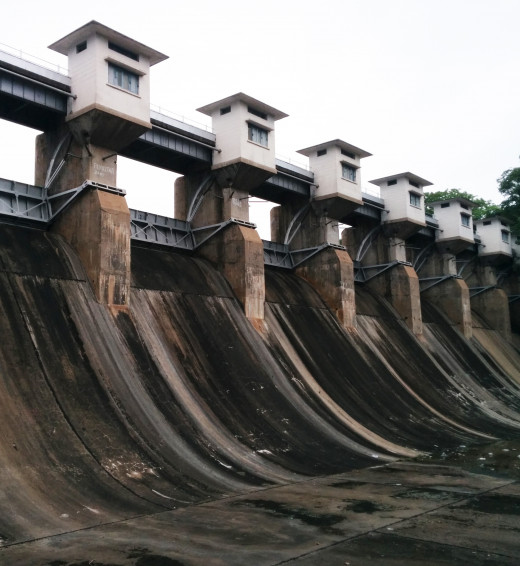 Dimna Lake Dam