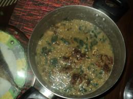 Mongo Soup with Malunggay