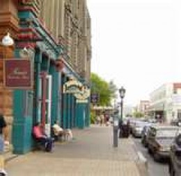 """The Strand"" Galveston Historical District and Shops"