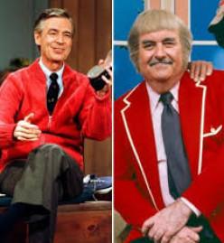 """Mr. (Fred) Rogers"" and ""Capt. Kangaroo"