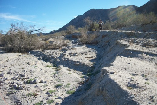Surface Rupture at Laguna Salada