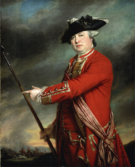 Lieutenant Colonel Francis Smith, 1723 - 1791, British Commander in the Battles of Lexington and Concord