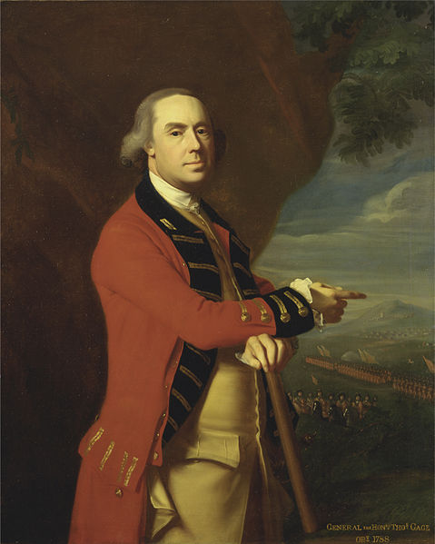 British General Thomas, , 1719 - 1787, by John Singleton Copley, c. 1768