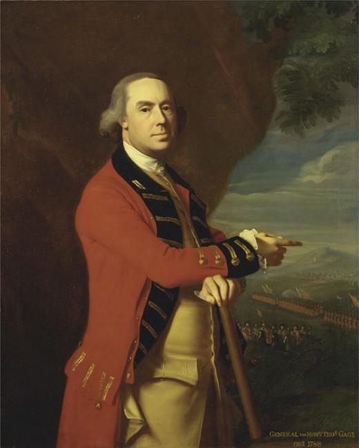 British General Thomas, , 1719 - 1787, by John Singleton Copley, c. 1768