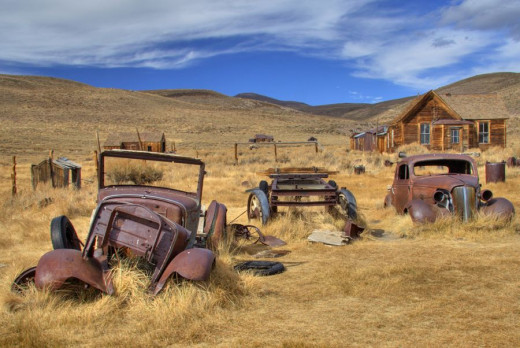Ghost towns may fascinate you.  If they do, dig deeper!
