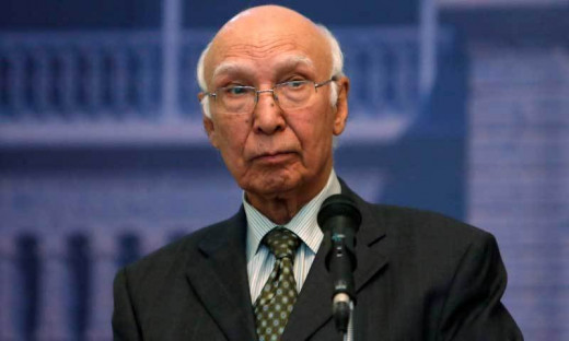 Sartaj Aziz, Advisor to Pak PM on National Security and Foreign Affairs