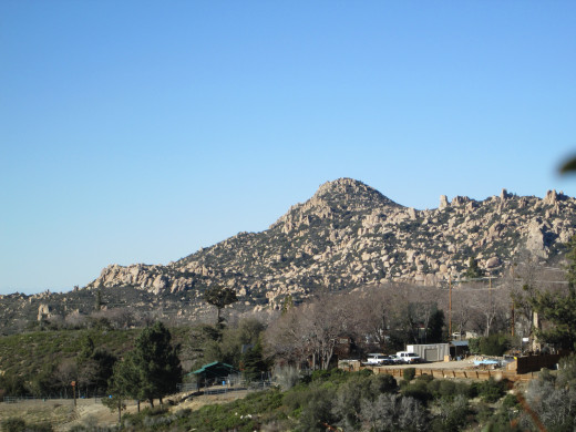 The Pinnacles up in the San Bernardino Mountains.