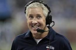 Pete Carroll - head coach, Seattle Seahawks