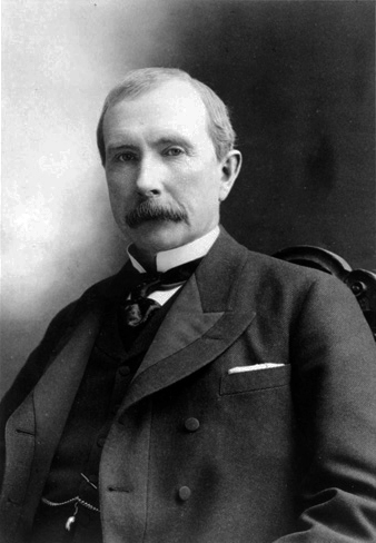 """""""Do you know the only thing that gives me pleasure?  It's to see my dividends coming in"""" - John D. Rockefeller"""