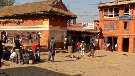 Street Scene in Changu