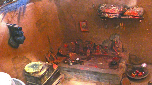 Puja Place in the Museum