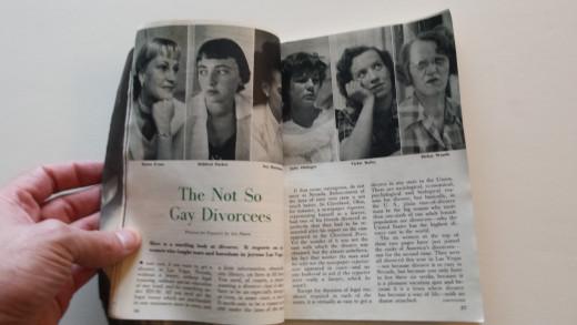 Scandalous behavior of the 50's :-)