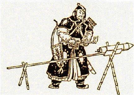 Gunpowder was one of many Eastern advancements