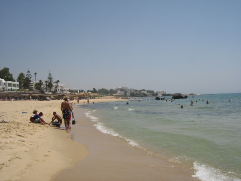 One of The Beaches at The Bel Azur Hotel