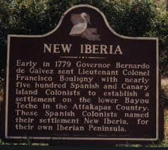 On New Iberia