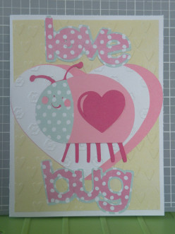Easy Homemade Valentine's Day Lovebug Card with a Cricut