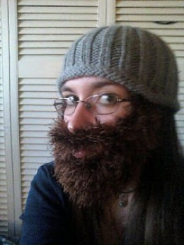 Free Knitted Beard Pattern : Free Knitting Beard and Hat Patterns
