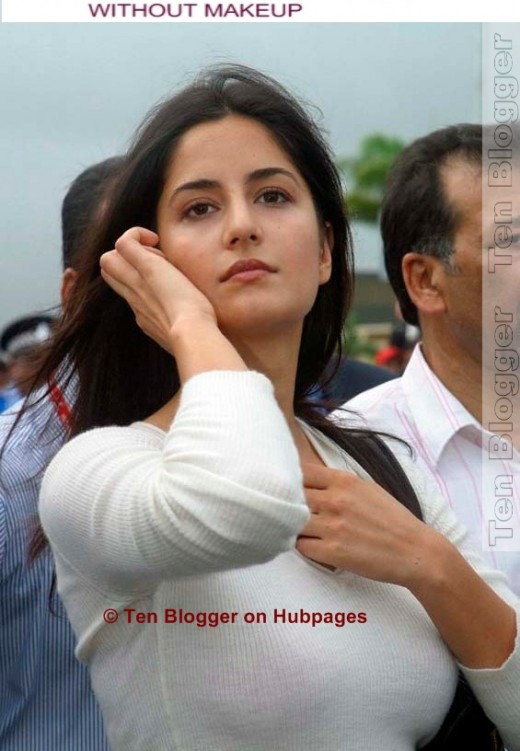 Katrina Kaif Without Makeup looks great as is..