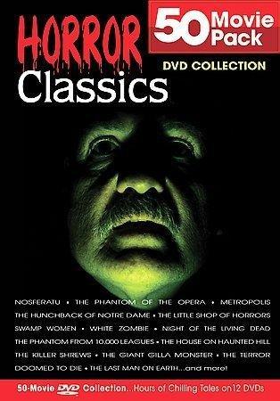 "My ""50 Horror Classics"" box set"