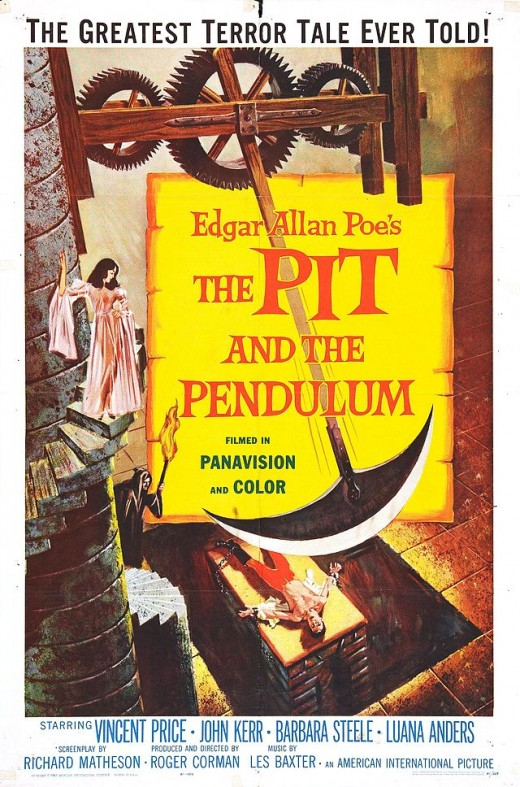 ":""The Pit and the Pendulum"" poster"