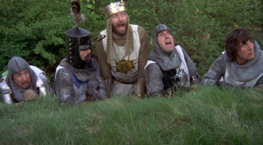 Monty Python and the Holy Grail  Graham Chapman, John Cleese, Eric Idle, Terry Gilliam,Terry Jones and Michael Palin