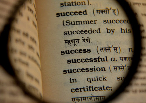 Even with setbacks in life, there are times that we are successful.