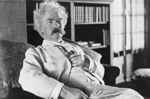 Mark Twain ~ Creative Commons Deed CC0 via Pixabay.com