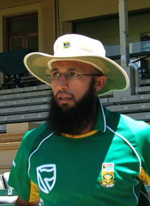 South African vice-captain Hashim Amla