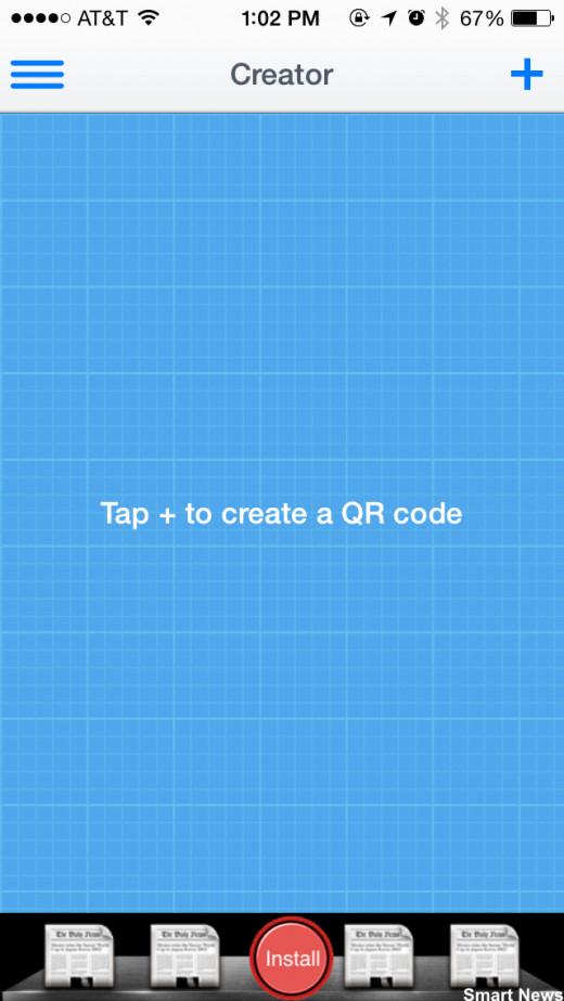 "IMAGE 1 (qr code for iphone ""creator"" screenshot)"