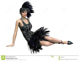 The Flappers were not just flashy-dancers, but the Roarin' 20's trend setters