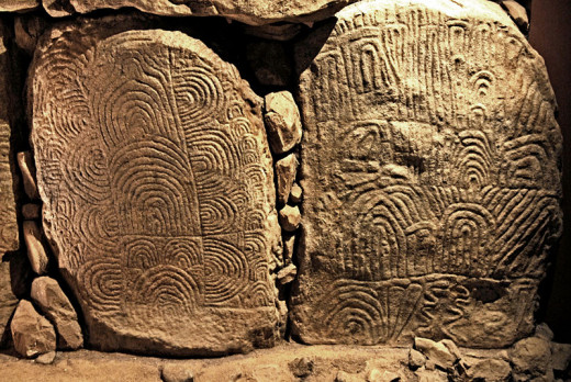 The stone tools at the Neolithic masons disposal, were fine enough to produce beautiful carvings.