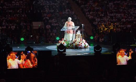 PM Modi's Rock Star reception at Madison Square  Garden, NYC