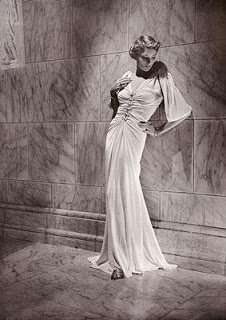 Madeline Vionnet was affectionately known as the Queen of the bias cut. Source :fashvian blogspot