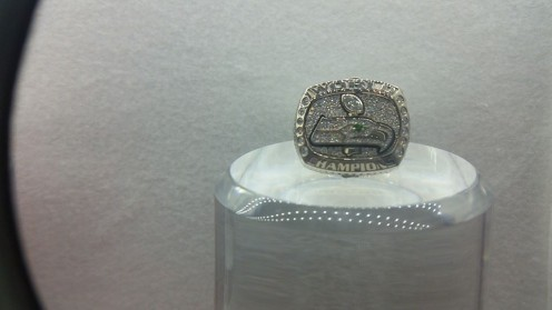 Super Bowl Championship Ring. Seattle Seahawks