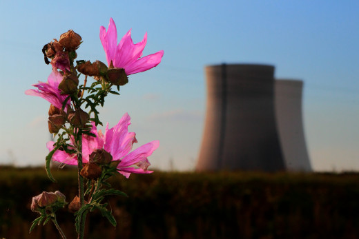 The United States leads the world in the amount of nuclear energy produced.
