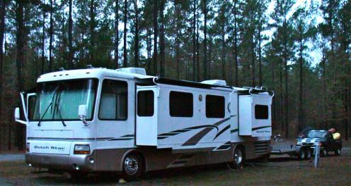 Home base while traveling through Hazelhurst, GA