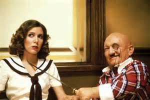 Billy Barty gets a little help from Carrie Fisher in 1981's Under the Rainbow which clinched Barty's first Razzie nom