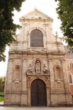 St Anne's Chapel, Brussels, Belgium