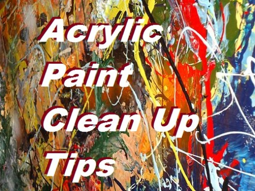How to Clean Up Acrylic Paint - Tips and Methods