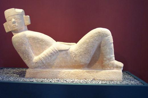 Chac Mool statue from Chichen Itza