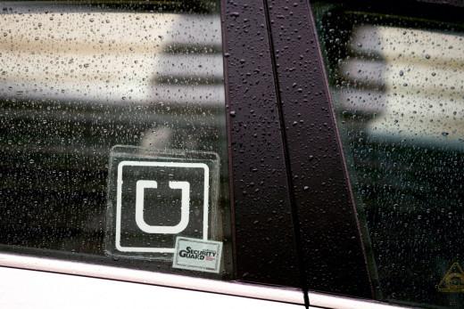 Uber Logo Sticker
