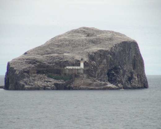The Lighthouse Built over the Prison - Bass Rock