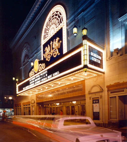 Benedum Center for the Performing Arts-home to many performances including my favorite Pittsburgh Ballet
